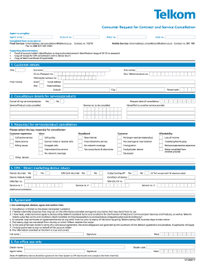 29 Printable Contract Cancellation Letter Forms and