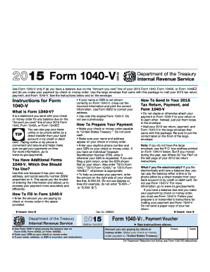 Fillable Online Irs 2015 Form 1040 Vocr Es Irs Fax Email Print