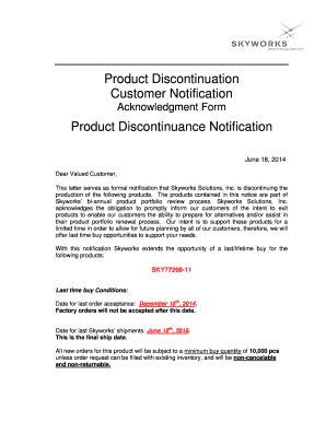 discontinuation of orthodontic treatment form - Printable