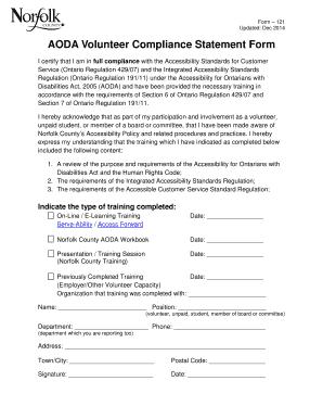 Free powerpoint templates for training presentation edit fill aoda volunteer compliance statement form norfolk county toneelgroepblik Gallery