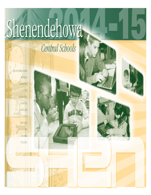 2014-15 calendar of district events - Shenendehowa Central Schools