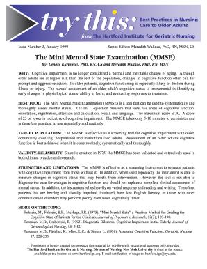 26 Printable mini mental status exam form Templates ...