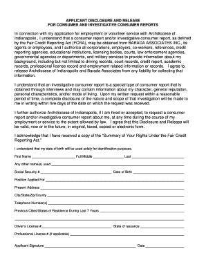 Consumer Credit Application Form Pdf