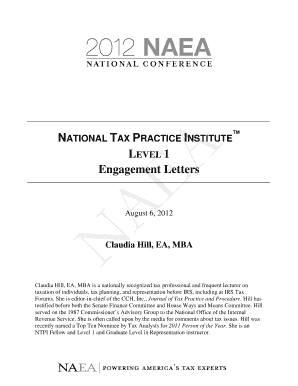 100 Irs Audit Engagement Letter Template