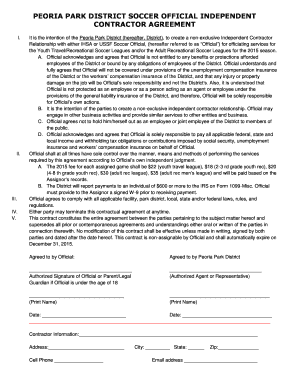 SAMPLE INDEPENDENT CONTRACTOR AGREEMENT SHORT FORM