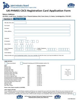 jib application form - Yeder berglauf-verband com