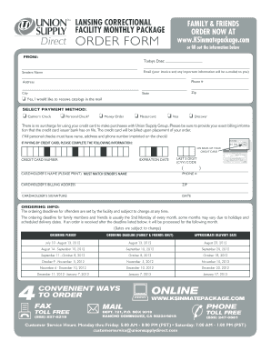 Union Supply Booklet For Ks - Fill Online, Printable