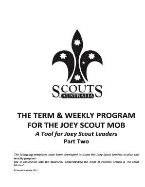 Joey Scout Weekly Planner V12011docx - scouts org