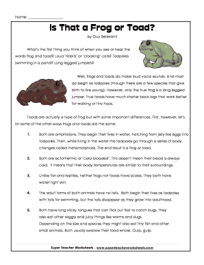 Printables Frog And Toad Worksheets frog and toad worksheets davezan fillable online is that a or super teacher worksheets