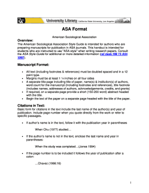 how to cite in asa format