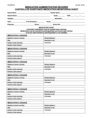 school admin communication log template forms fillable printable