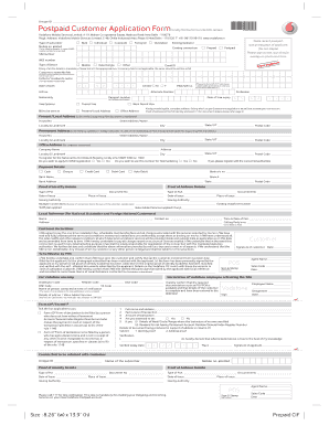 vodafone postpaid login - Fill Out Online Documents for