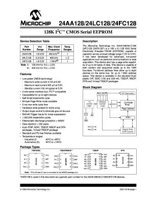 Fillable Online atlantique-composants 24AA128/24LC128