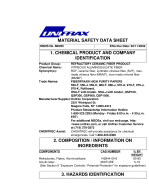 Unifrax Fiberfrax High Purity - The Schaefer Group
