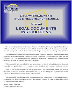 Section 4 - Kansas Department of Revenue