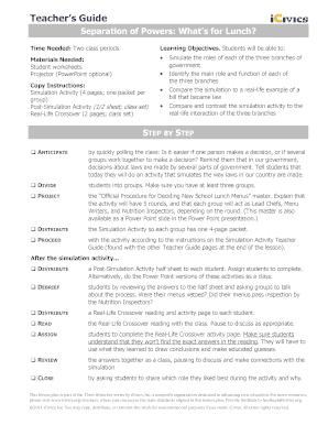 Printables Separation Of Powers Worksheet fillable online separation of powers reading worksheet file fill online