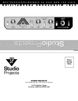 Studioprojects. Com magazines.