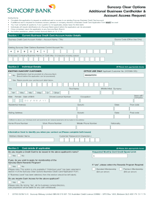 Business credit application form edit print fill out download download business credit card additional card holder form pdf reheart Gallery