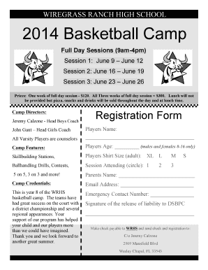 B2014b Basketball Camp - Wiregrass Ranch High School