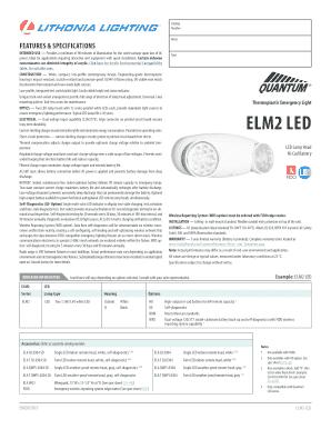 Fillable Online Lithonia Elm2 Led M12