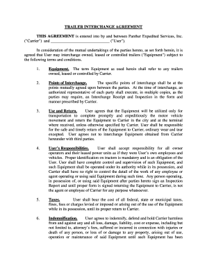 31 Printable Trailer Rental Agreement Template Forms
