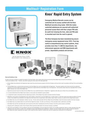 Fillable Online MedVault Registration bFormb - Knox Box Fax Email ...