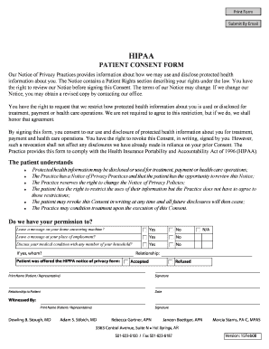 Hipaa patient consent form - Fill Out Online Documents for Local ...