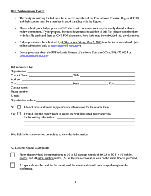 B2015b iowa tourism conference request for proposal - Travel Iowa