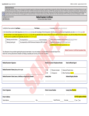 graphic relating to Mcsa-5875 Printable Form known as 20 Printable dot style mcsa-5875 Templates - Fillable Samples