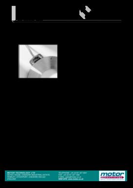 Fillable Online motec co Precise encoder kit MiniCoder GEL