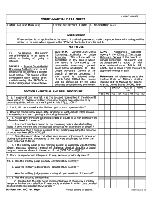 Editable 10 trial data sheet - Fill Out, Print & Download