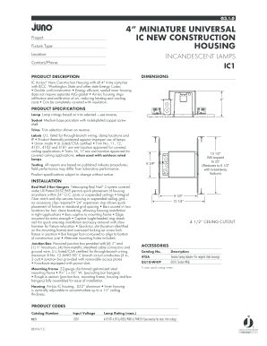 House Construction Specification Sheet Forms And Templates