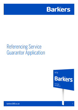 Referencing Service