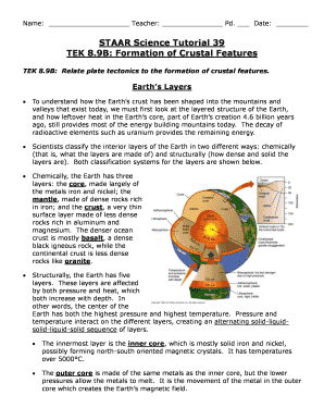staar science tutorial 33 tek 89b formation of crustal features