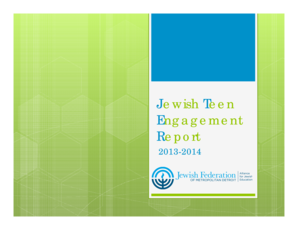 Microsoft PowerPoint - Jewish Teen Engagement Reportpptx Read-Only - jewishdetroit