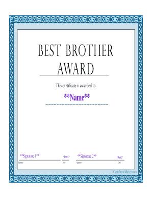 online printable award certificates
