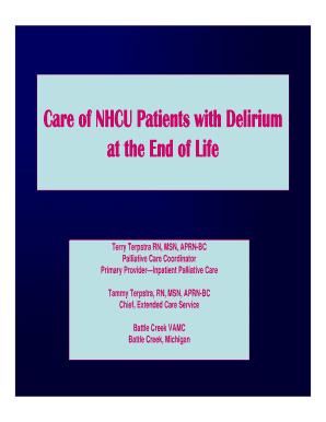 delirium and dementia nursing quiz - Fill Out Online