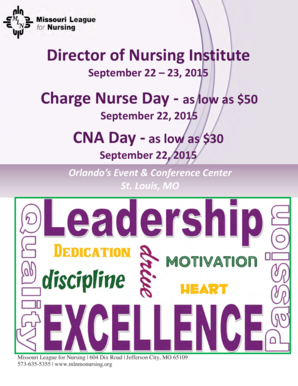 Director of Nursing Institute Charge Nurse Day - as low as 50 - health mo
