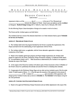 Sample Design Contract-rdoc - benford