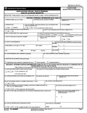 VA Form 21-2680 Templates - Fillable & Printable Samples for PDF ...