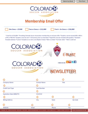 Membership Email Offer - Colorado Soccer Association - coloradosoccer