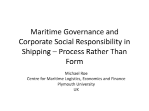 corporate governance vs corporate social responsibility pdf