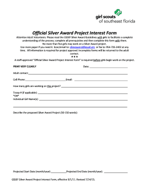 21 Printable letter of interest for project Forms and Templates