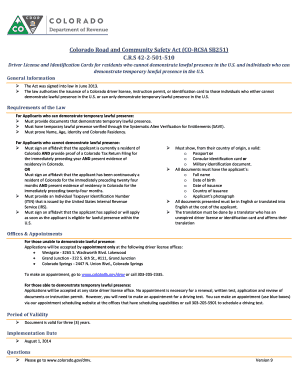 affidavit of identity colorado Fill Print Download Online