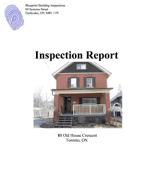 Building inspection report sample editable fillable printable 20071022 sample report blueprint building inspections malvernweather Image collections