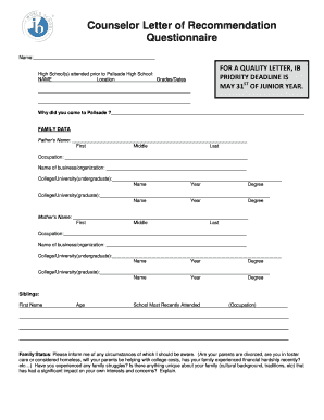 Editable letters to the editor examples for high school students letter of recommendation form palisade high school spiritdancerdesigns Choice Image