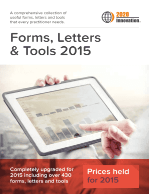 Forms, Letters & Tools 2015 - BBS Computing Ltd