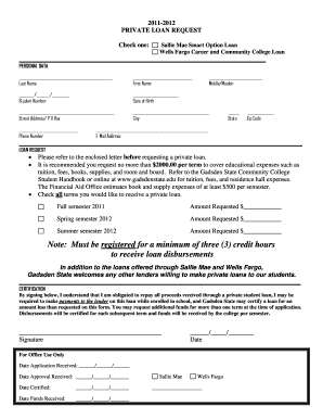 Editable personal loan request letter form samples online in pdf note must be registered for a minimum of three 3 credit hours to bb spiritdancerdesigns Choice Image