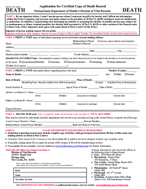 vital records scranton pa - Fill Out Online Forms Templates