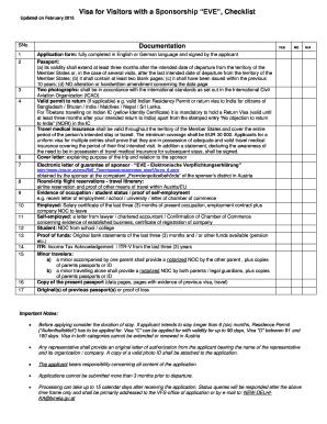 Complete editable sample sponsorship letter for german student visa visa for visitors with a sponsorship eve checklist altavistaventures Images